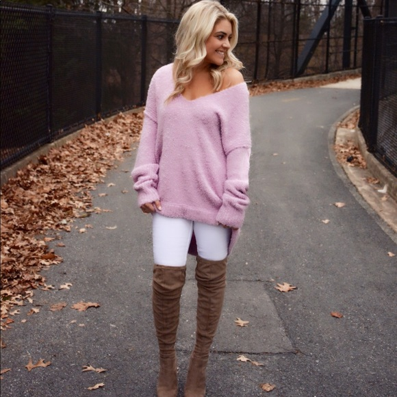 Free People Sweaters Lofty V Neck Sweater Poshmark